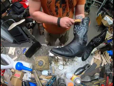 Tony Lama Boots Python Snakeskin Care and Treatment