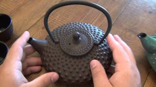 "Nuovo Tea ""Tetsubin"" (Japanese Cast Iron Teapots)"