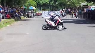 XYI Banjar Region : Stunt Gathering Banjar Otomotif Party (BOP) Budi Jaelani XYI Sukabumi Region