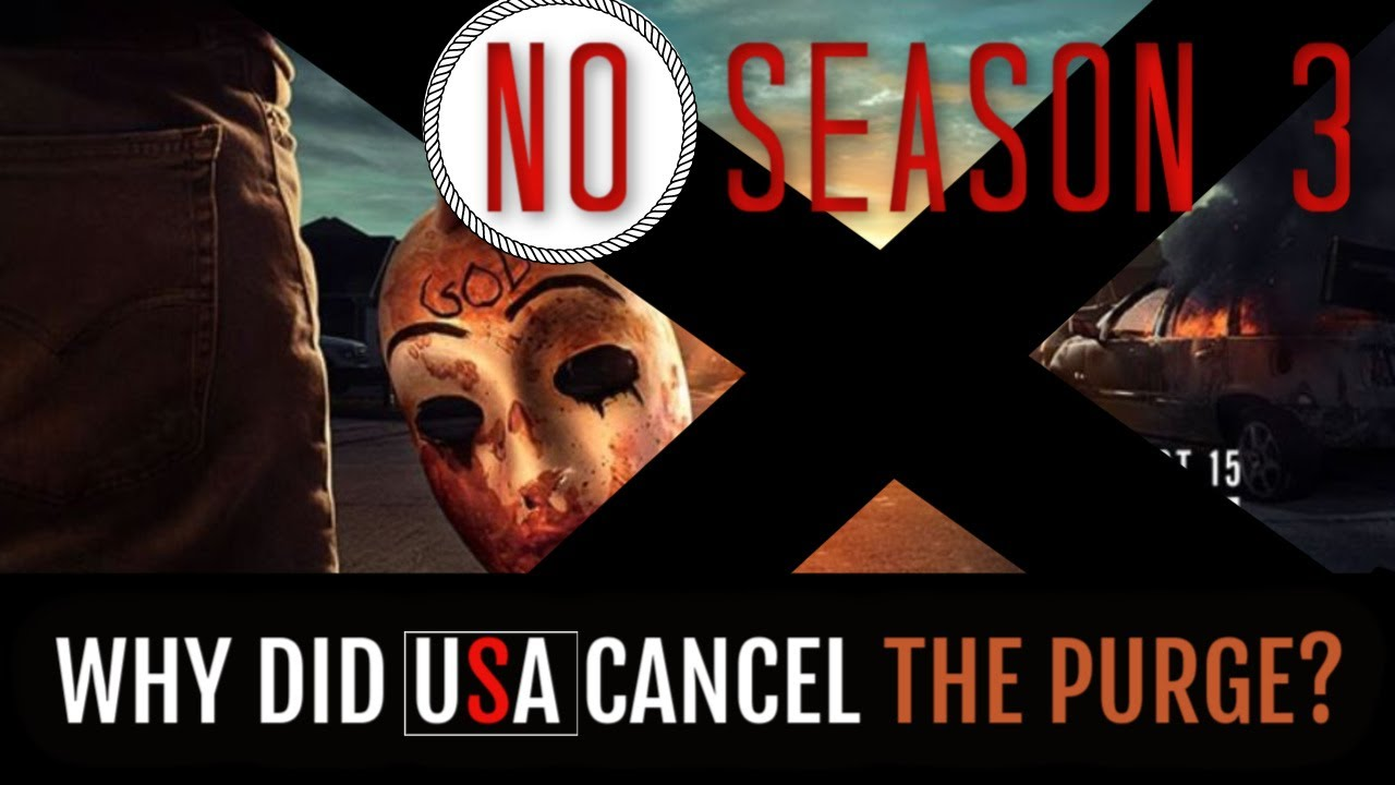 Download Why They Canceled The Purge | No The Purge Season 3