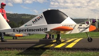 Colomban Cri-Cri smallest twin-engined Aircraft in the World 1:1 as RC Model Airplane