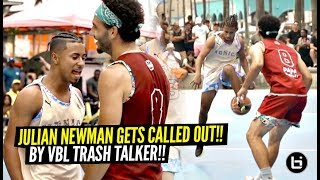Julian Newman Gets CALLED OUT By Trash Talker!! Ends Up Dropping 35 POINTS!