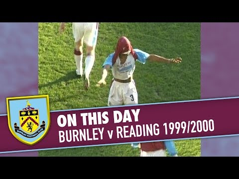 ON THIS DAY | Burnley v Reading - 1999/2000