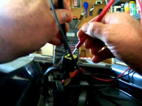Charging System Stator Test Can-Am Bombardier Outlander 400 ATV