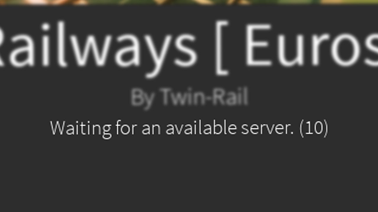 How To Fix Waiting For Available Servers Roblox Youtube