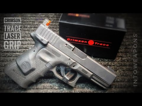 Crimson Trace Lasergrips: Glock 19 Gen4 Installation