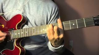 The Charlatans - Everything Changed (Guitar Cover)