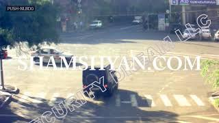 Բացառիկ Տեսանյութ  Սախարովի հրապարակում բախվել են Renault ն ու «յաշիկը»