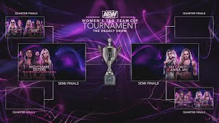 AEW Women's Tag Team Cup Tournament: The Deadly Draw Night 2 Quarter Finals | 8/10/20