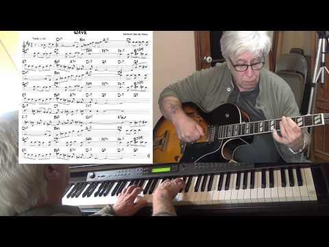 Wave - jazz guitar & piano cover ( Antonio Carlos Jobim ) Yvan Jacques