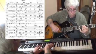 Wave - jazz guitar & piano cover ( Antonio Carlos Jobim ) Yvan Jacques