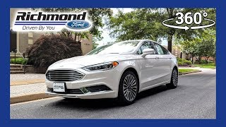 2018 Ford Fusion SE 360 Degree Virtual Test Drive