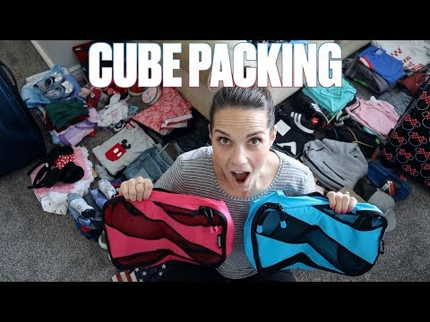 PACKING A FAMILY OF 7 FOR FIRST DISNEY WORLD AND DISNEY CRUISE VACATION | HOW TO PACK FOR A BIG TRIP