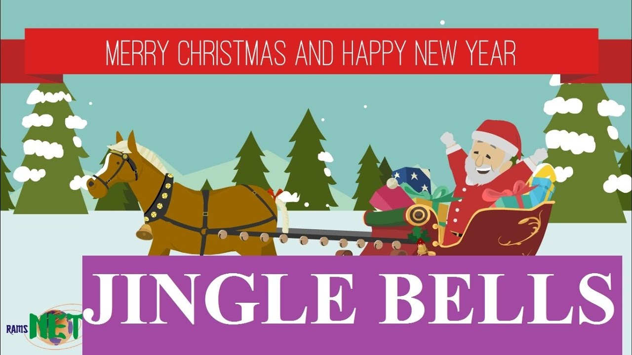 Jingle bells merry xmas and happy new year