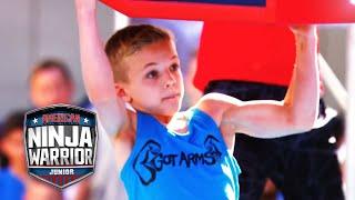 American Ninja Warrior Junior EP 4 FULL OPENING CLIP | Universal Kids