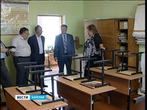 Глава Карелии Худилайнен совершил рабочую поездку в Пудожский район
