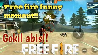 [mode clash squad] Free fire funny moment [ngakak abis]