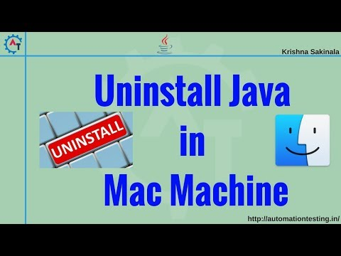 How to Completely Uninstall Java from Mac Machine (100