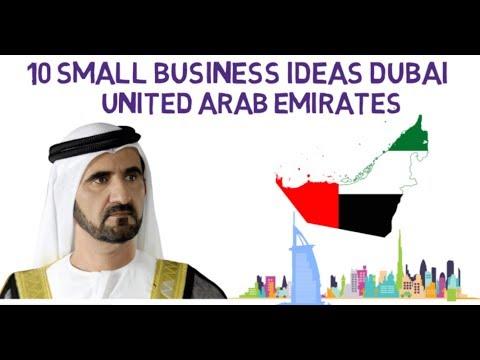 10 Small Business Ideas In Dubai United Arab Emirates | Syed Asad Jeelani