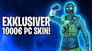 NEW EXCLUSIVE PC SKIN! €1,000! 🔥 | Fortnite: Battle Royale