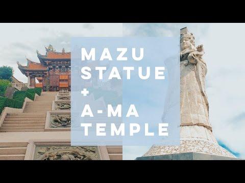 MACAU: Mazu Goddess + A-MA Temple
