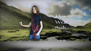 How to Wear a Sash