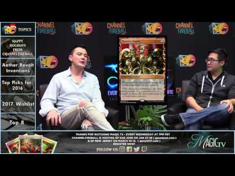Magic TV - 2016 Highlights and 2017 Wishlist