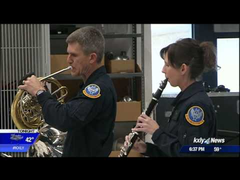 United States Air Force Academy Band plays in Northern Idaho