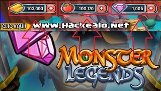 HACK GEMAS , ORO , COMIDA , XP en MONSTER LEGENDS 2018 | FEBRERO - ACTUALIZADO