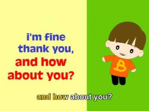 Musik Lagu Anak Karaoke Bahasa Inggris - Greeting (English Song)
