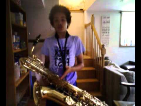 The Baritone Saxophone by fro bro 101