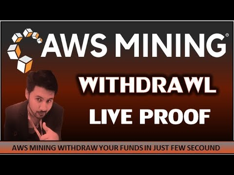 How To Withdraw From AWS Mining || Live Withdraw Proof || Urdu/Hindi