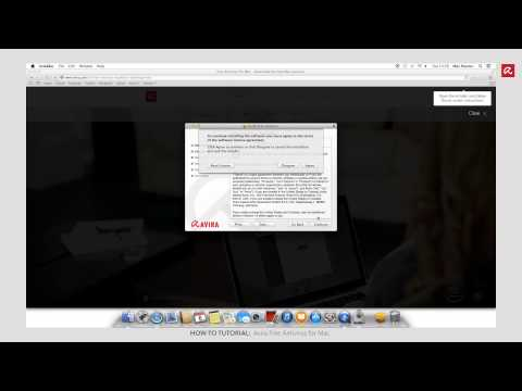 Installation Avira Free Antivirus For Mac (English)