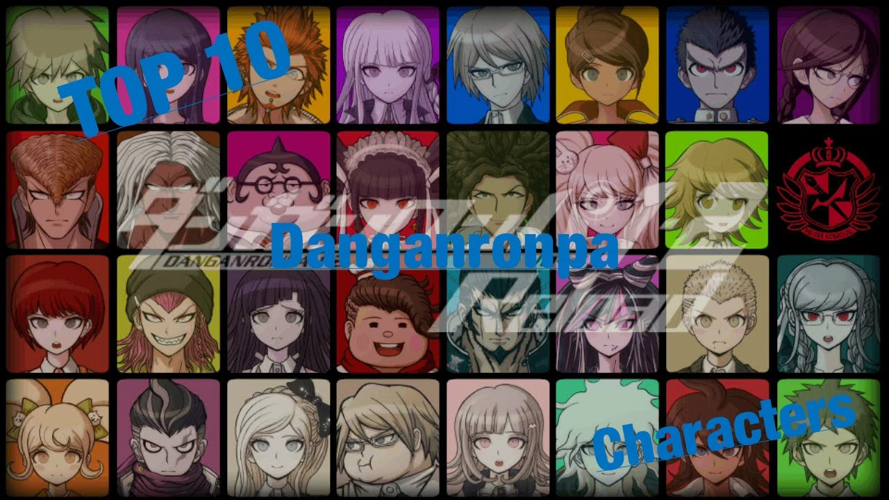 Top 10 Danganronpa Characters