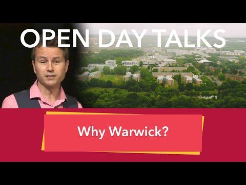 University Of Warwick Open Day Talks: Why Warwick?