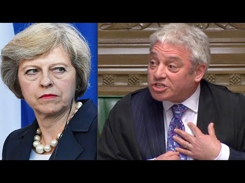 """BREXIT: Angry John Bercow slams """"DISCOURTEOUS government, INEXPERIENCED ministers, RAISE YOUR GAME"""""""