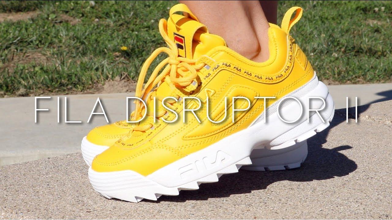 665a4dc6b89 FILA DISRUPTOR 2 -On Feet- - YouTube