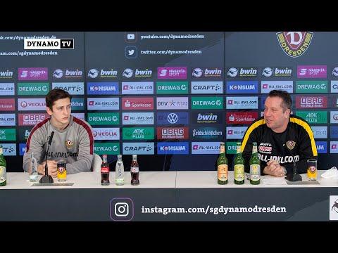 24. Spieltag   SGD - VfB   Pressekonferenz vor dem Spiel