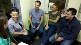English speaking club Krasnodar...