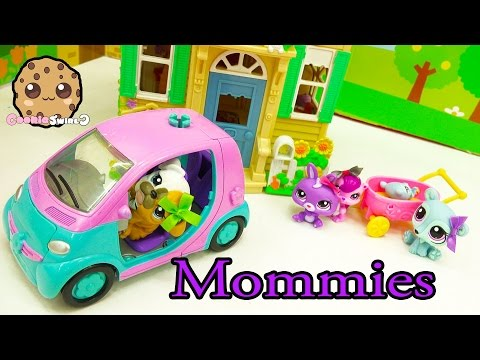 LPS Mommies Series Littlest Pet Shop - Plan Baby Shower - Part 65 Cookieswirlc Video