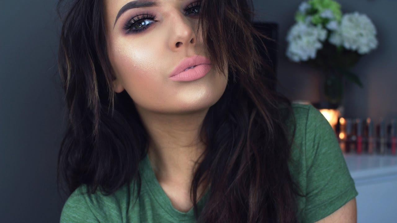bedroom eyes makeup tutorial | kat von d shade & light palette