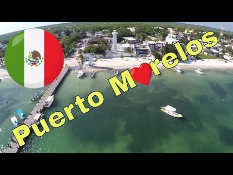 Puerto Morelos Riviera Maya Drone Footage HD 1080 GoPro Hero 4 Cancun Beaches 3DR SOLO