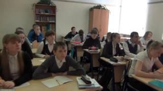 Видеофрагмент урока русского языка Николаевой Е.А.