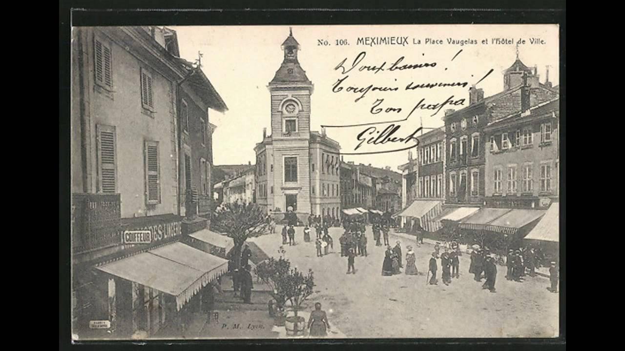Cartes postales anciennes Meximieux - YouTube