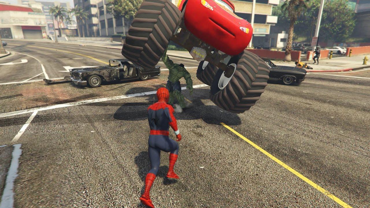 Örümcek Adam  Uzaylıların Kontrol ettiği Hulkla savaşıyor | Süper Kahramanlar Çizgi Film İzle #03