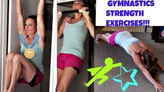 3 Great Exercises To Improve Gymnastics Skills!  Upper Body Workout