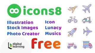Icons 8 | Free icon | Free Stock Image | Free Illustration | Free Audio | Free Sketch Software