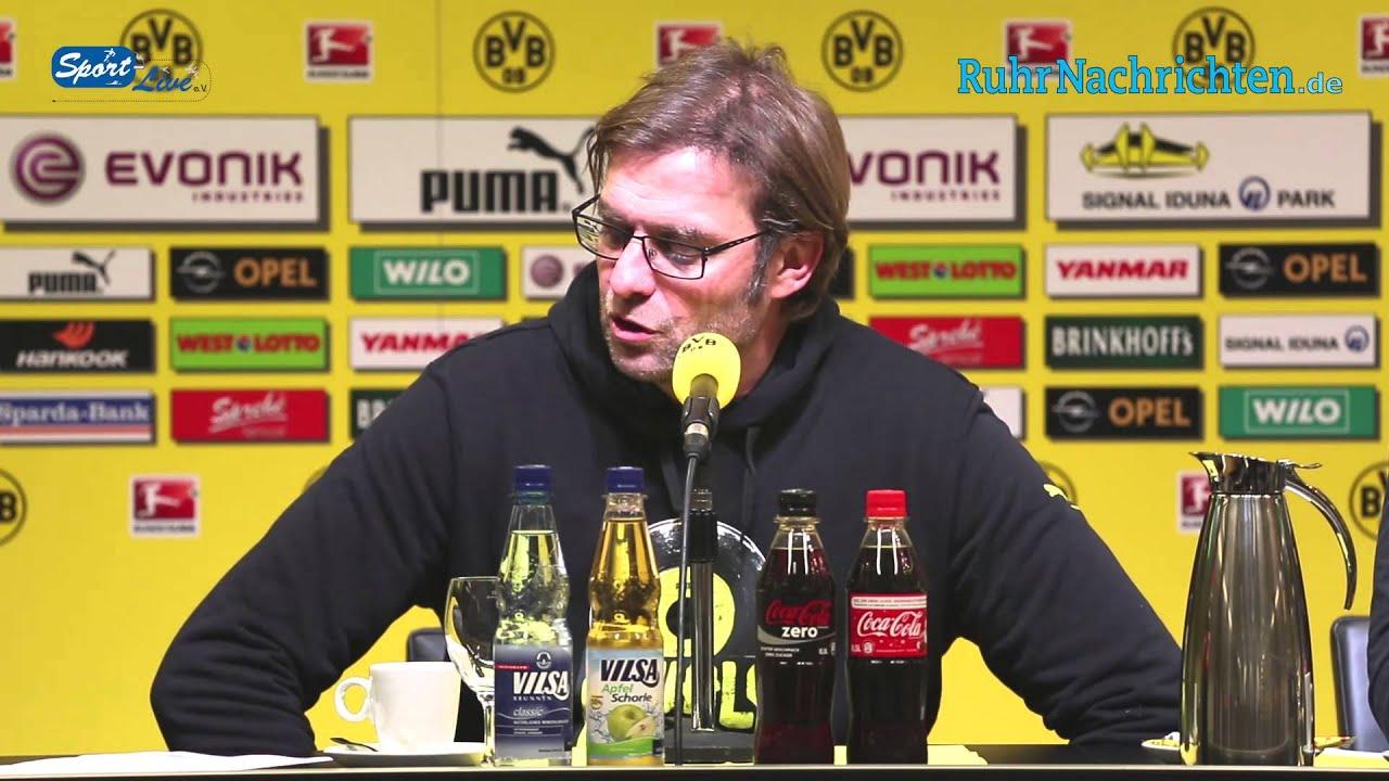 BVB Pressekonferenz vom 27. November 2012 nach dem Spiel Borussia Dortmund gegen Fortuna Düsseldorf