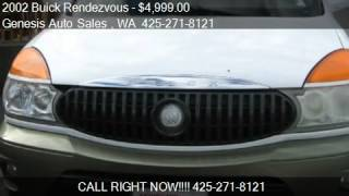 2002 Buick Rendezvous CXL AWD 4dr SUV for sale in Renton, WA
