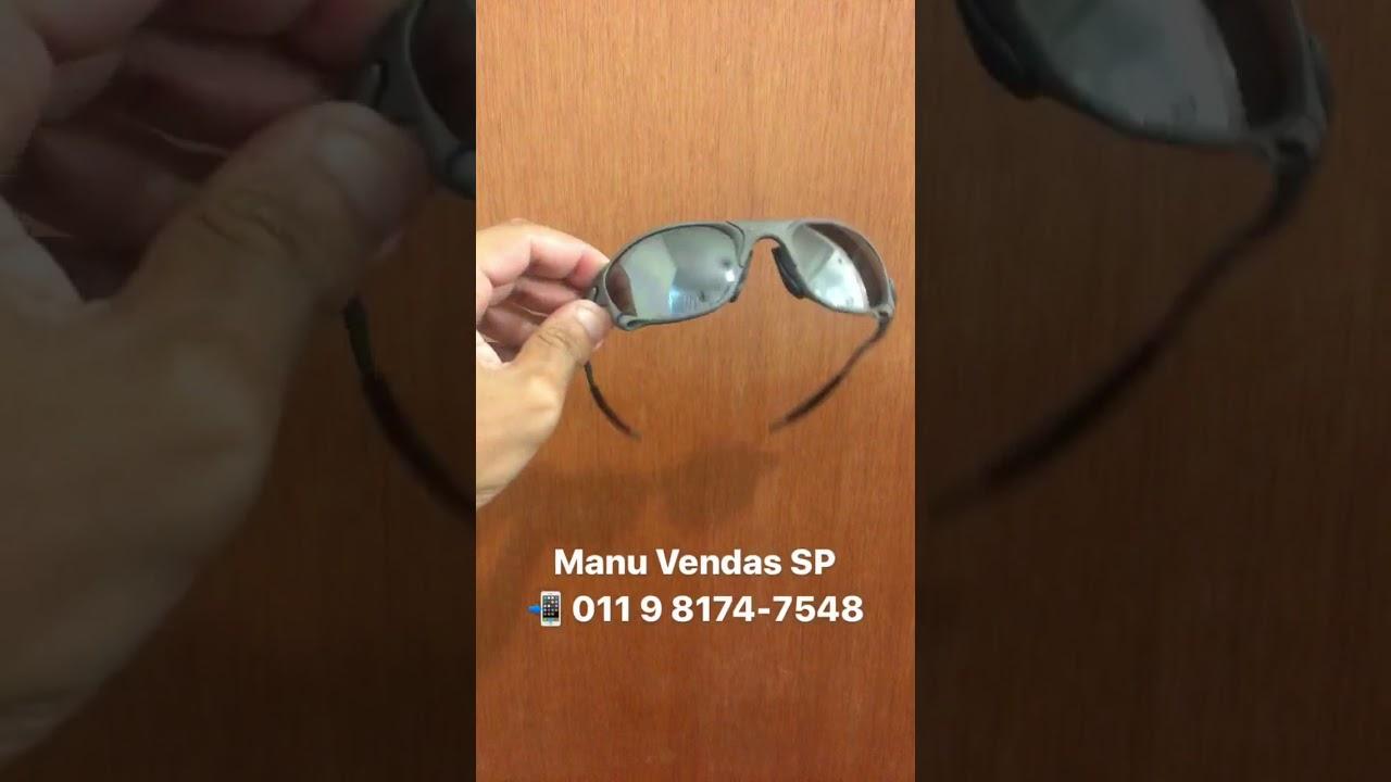 ÓCULOS OAKLEY DOUBLE X XMETAL CHROME A VENDA  ORIGINAL - YouTube ed1d67ba7b